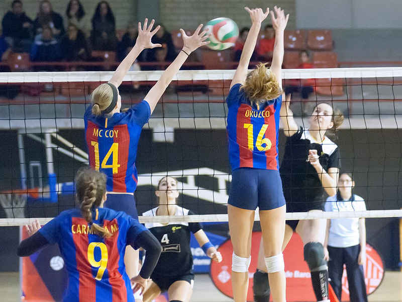 El CVB Barça es classifica pel play off de Superlliga