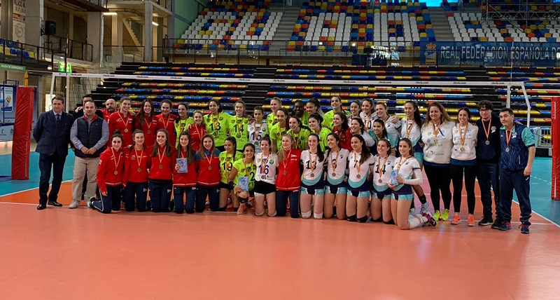 El Voleibol Sant Just segon a la Superlliga Júnior