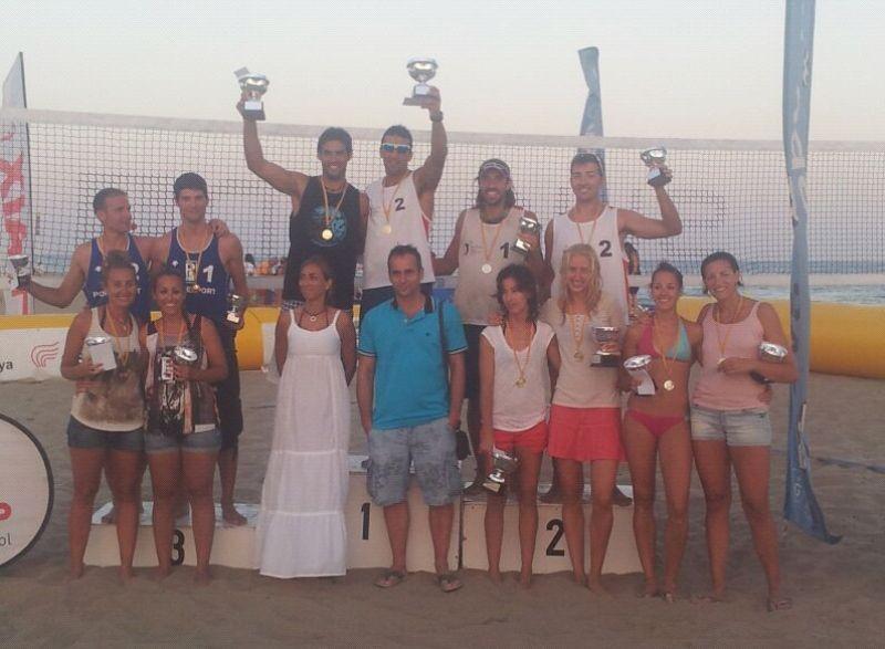 Williman-Zanotta y Triguero-Kliokmanaite se proclamandosesucesor en Gavà campeones de Cataluña